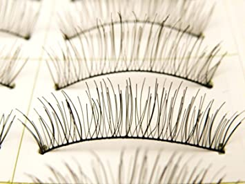 40 Pairs Natural Sytle False Eyelashes Fake Eye Lashes Black Soft - MZZH04001