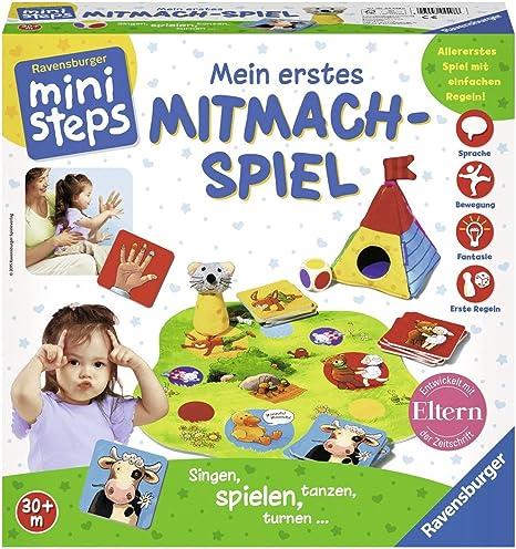 Ravensburger ministeps Mein Erstes Mitmach-Spiel Brettspiel Würfelspiel Spiel