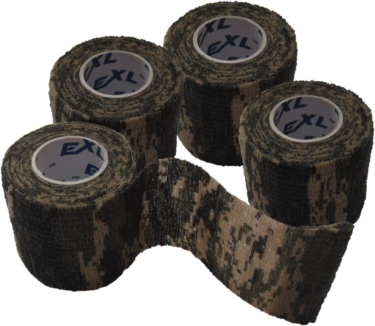 2x 4.5M Military Stretch Medical Bandage Camouflage Tape Self-Adhesiv Gun Decor/&