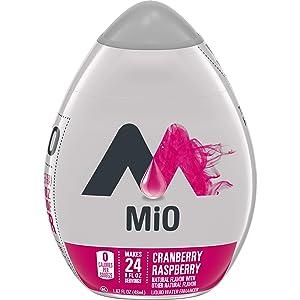 MiO Cranberry Raspberry Liquid Water Enhancer , Caffeine Free, 1.62 fl oz Bottle