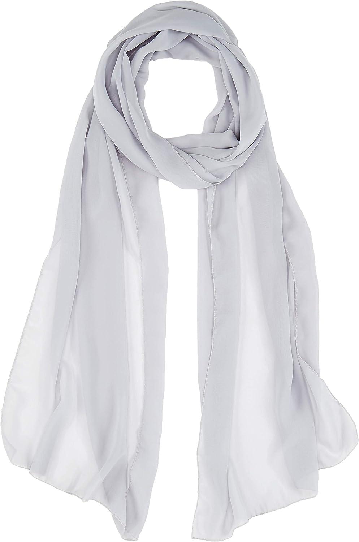 Violet FLORA mousseline de soie longue /étole///écharpe Ch/âle//Foulard,230cm//90