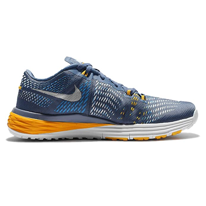 watch 8bfab 19e84 Nike Men s Lunar Caldra, Ocean Fog White-University Gold-Photo Blue, 7. 5 M  US  Buy Online at Low Prices in India - Amazon.in