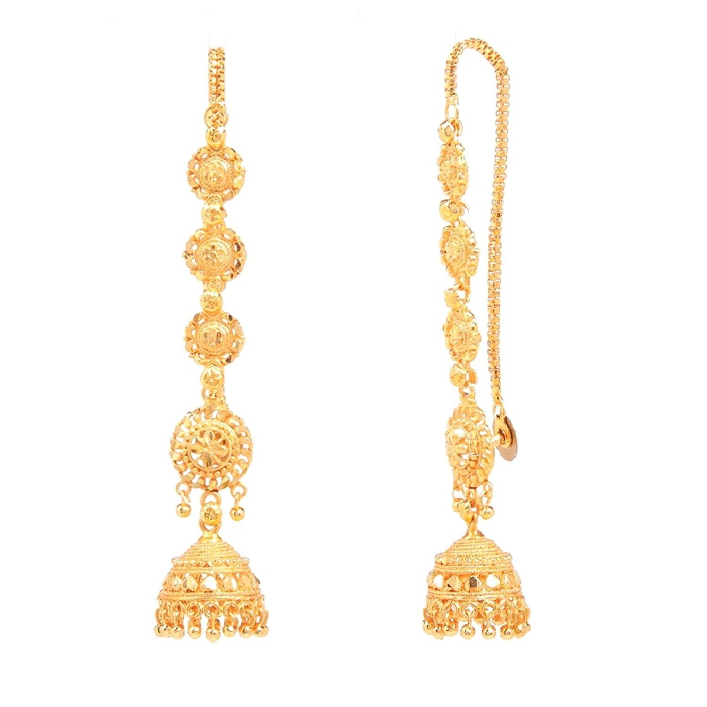 Cute Madrasi Gold Jhumka Designs Ideas - Jewelry Collection Ideas ...