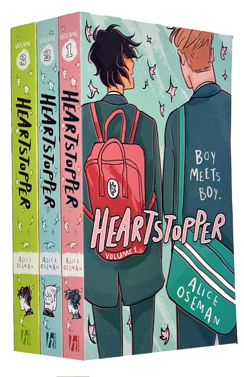 Amazon.com: Heartstopper Series Volume 1-3 Books Collection Set By Alice  Oseman (9789123971923): Alice Oseman, Heartstopper Volume Three By Alice  Oseman, 978-1444952773, 1444952773, 9781444952773, Heartstopper Volume One  By Alice Oseman, 978-1444951387 ...