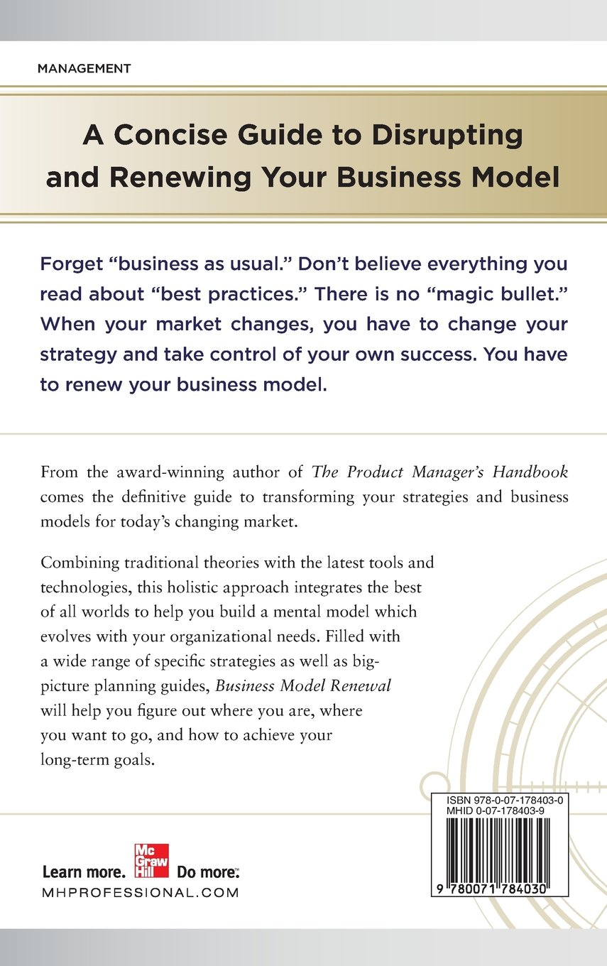 business model renewal how to grow and prosper by defying best practices and reinventing your strategy