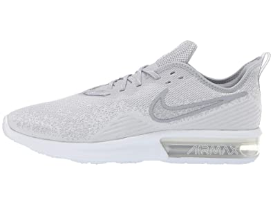 half off 9cda8 a7049 Nike Men s Air Max Sequent 4 Fitness Shoes, White Wolf Grey 100, ...