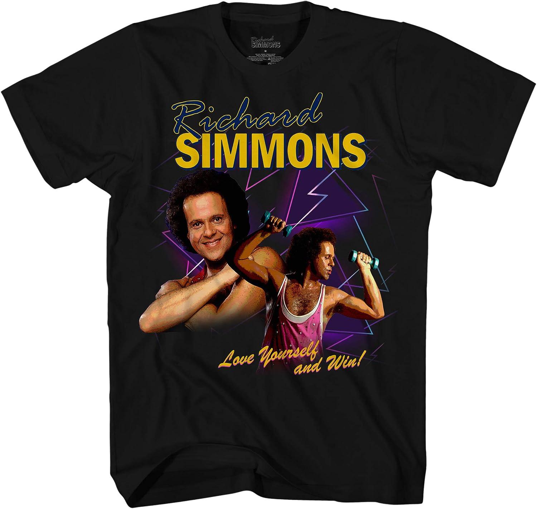 Richard Simmons Mens Classic Shirt Sweatin' to The Oldies Tee Shirt Graphic T-Shirt