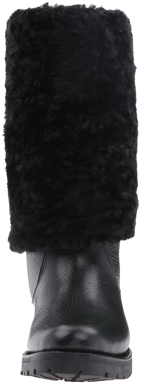 FRYE Women's Natalie Cuff Lug Winter Boot B01BM0NCA6 8.5 B(M) US|Black