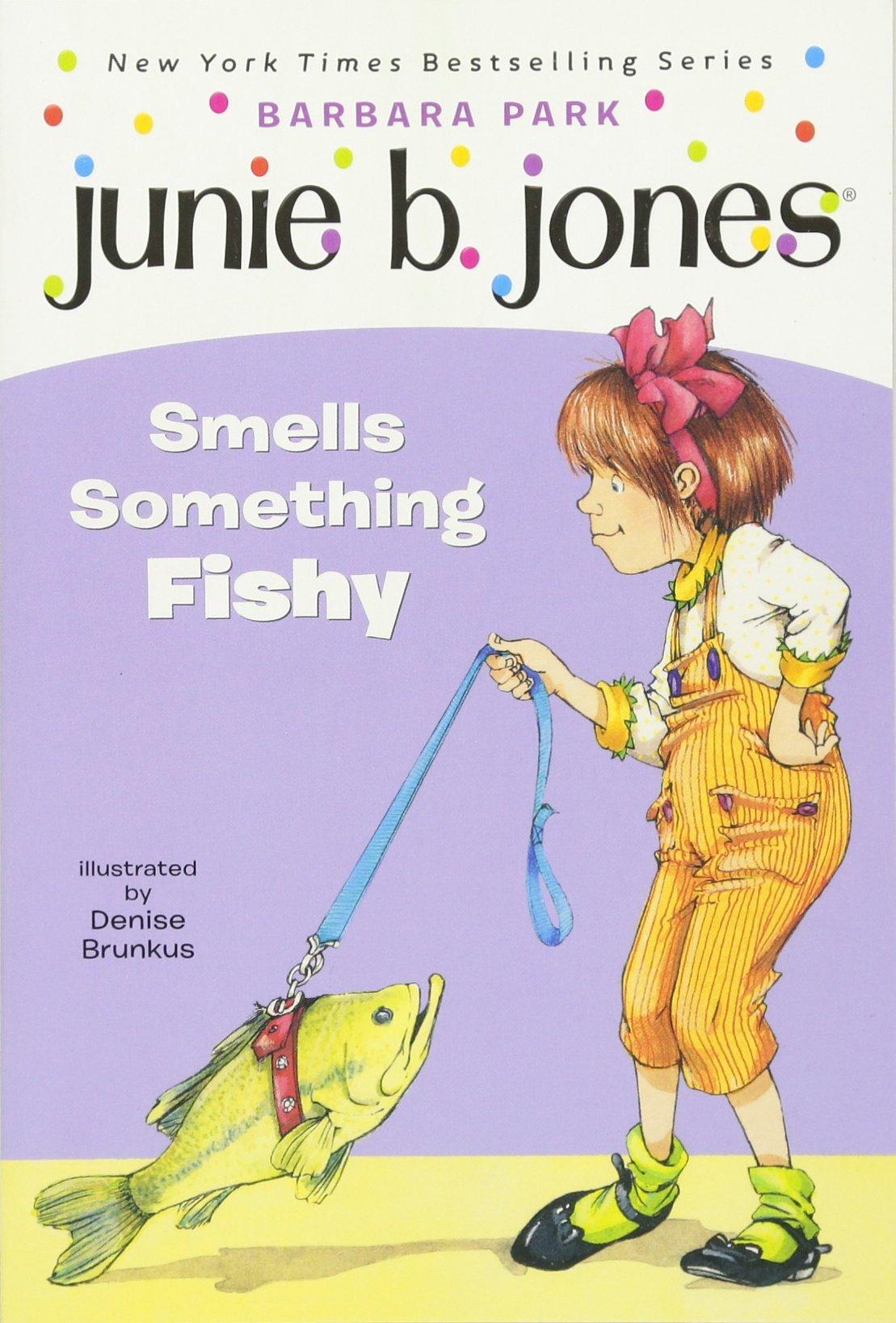 amazon com junie b jones smells something fishy junie b jones