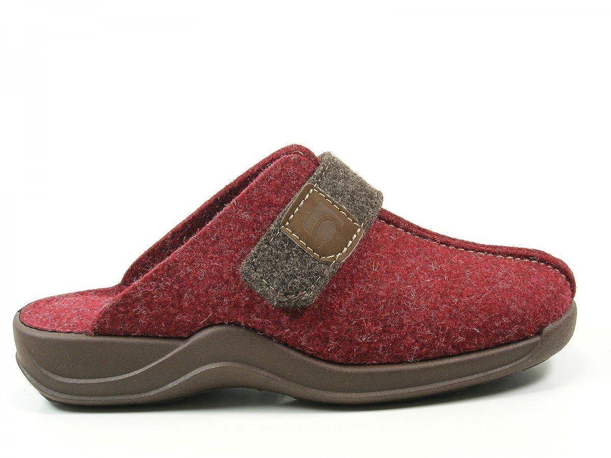 Rohde Damen Vaasa-D Pantoffeln, Rot (Bordeaux 42), 37 EU