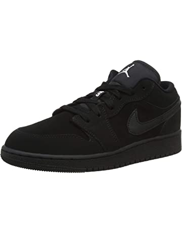 b485d609182 Nike Boys   Air Jordan 1 Low Bg Basketball Shoes