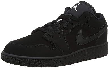 Nike Boys  Air Jordan 1 Low Bg Basketball Shoes  Amazon.co.uk  Shoes ... 527d384d0