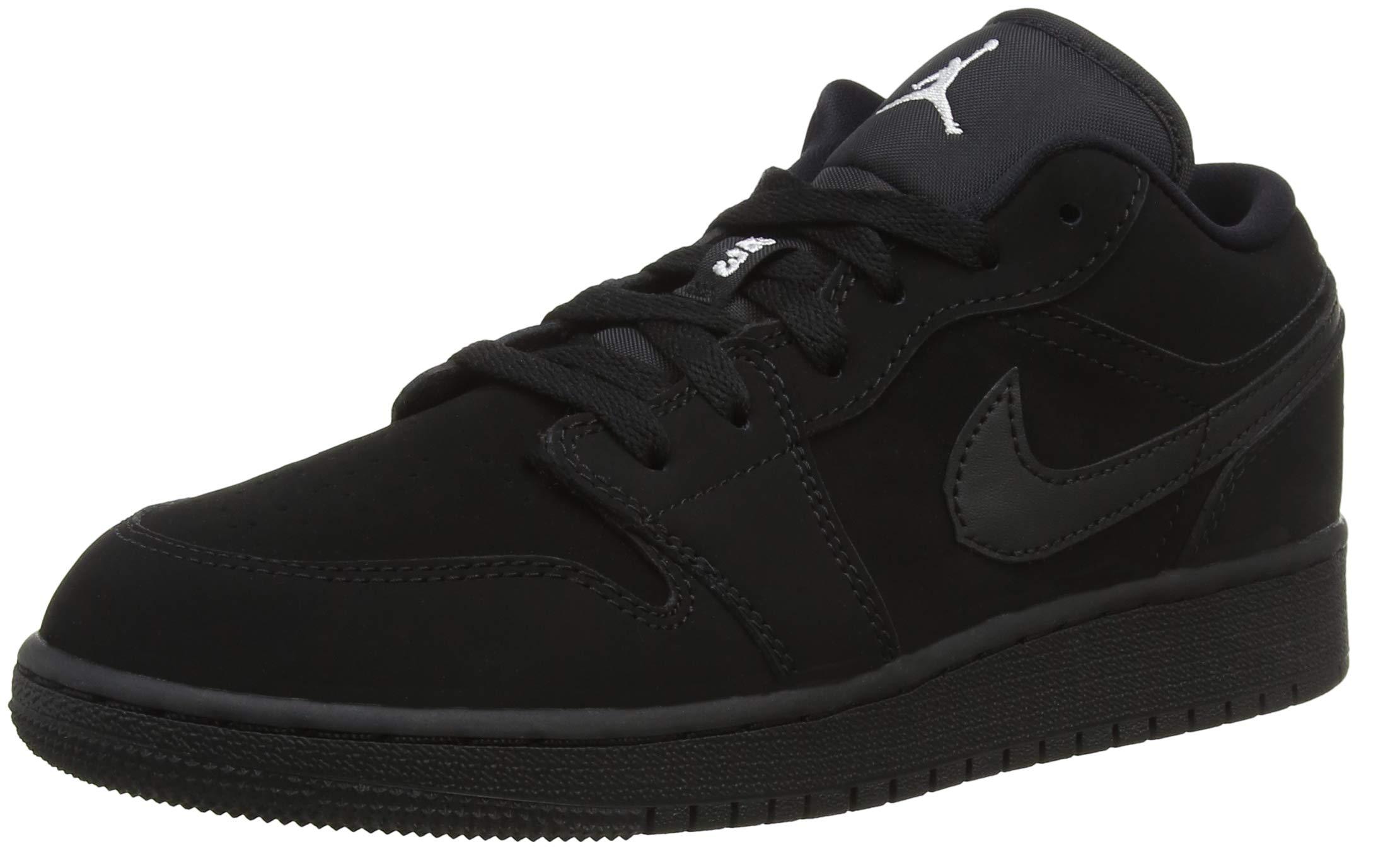 Jordan Air 1 Low (Kids) Black/White