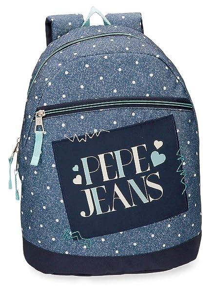 Jeans 32 azul 6 Bleu Cm Olaia Loisir Sac Liters À Dos 9 Pepe 76xqdUYwW6