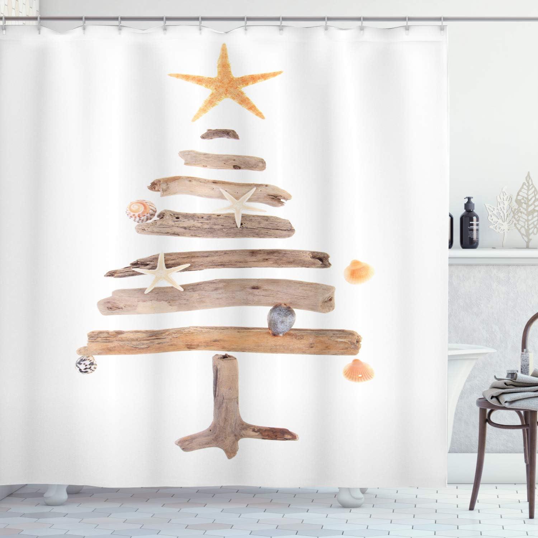 Decorative Shower Curtain Hooks Home Kitchen Christmas Shower Curtain Hooks Set Of 12 Noel