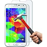 [2 Pack] Galaxy S5 Screen Protector, Anderw 0.26mm 9H Tempered Glass Screen Protector for Samsung Galaxy S5