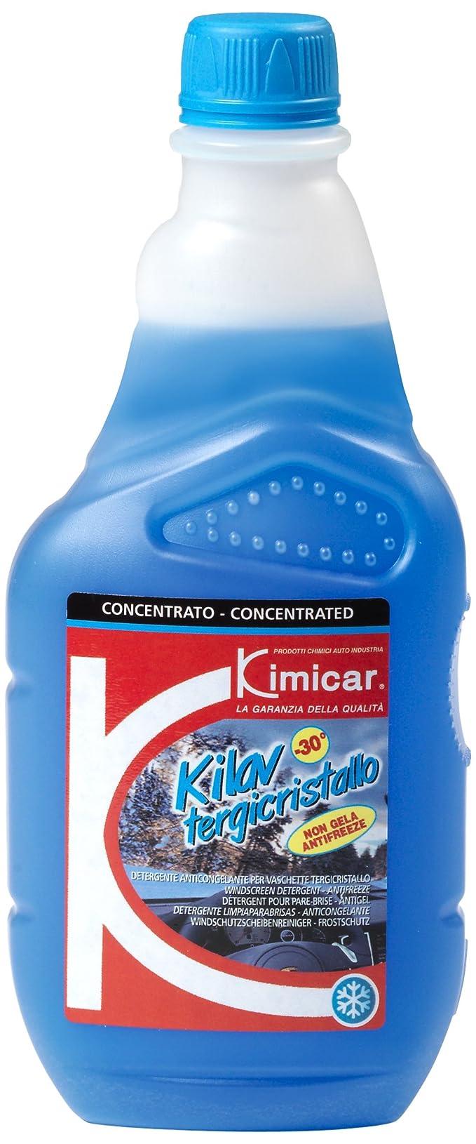 6fae535178 Kimicar 036T503 Kilav Liquide lave-glace antigel, -30°C, 500 ml, Bleu