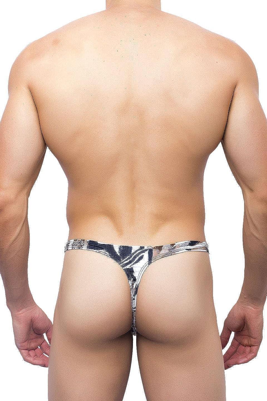 JOE SNYDER Leopard Tanga Thong 03 Mens Underwear