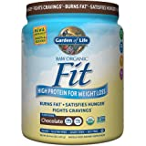 Garden of Life Meal Replacement - Raw Organic Fit Vegan Nutritional Shake for Weight Loss, Chocolate, 16.3oz (1lb/461g) Powder