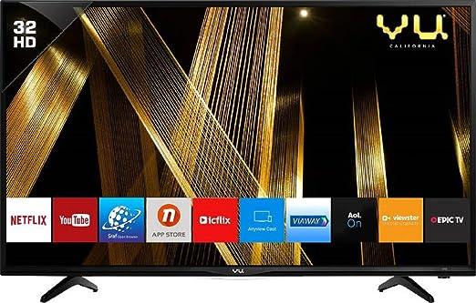 VU 80 cm  32 Inches  HD Ready Smart LED TV 32OA  Black   2019 Model  Smart Televisions