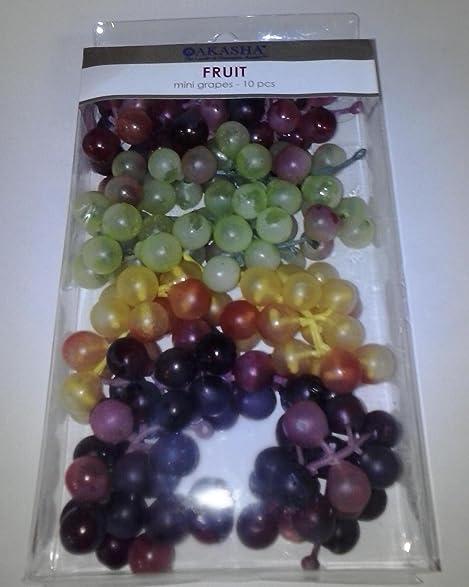 Amazon.com : Mini Grapes-10 pcs-Akasha The Leader in Decorative ...