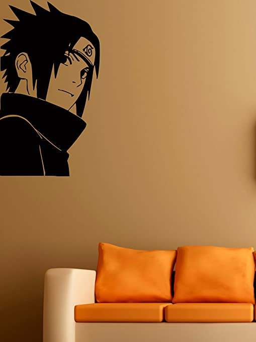 Amazon.com: Uchiha Sasuke adhesivos de vinilo de pared Ninja ...