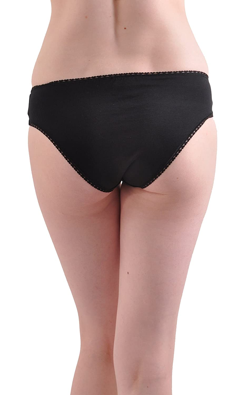 a5e247ca4b4f Kabbaz-Kelly Silk and Cotton Bikini Panty - Made in Italy at Amazon Women's  Clothing store: