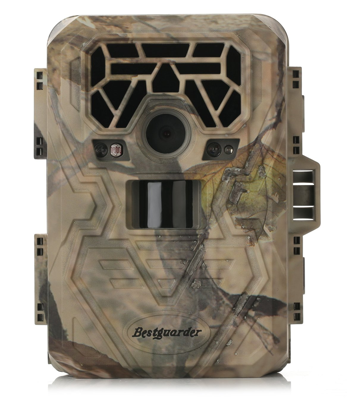 Trail Camera Night Vision Game Camera Waterproof IR LEDs Takes HD 12mp Image 1080p Video from 75feet Distance with 2.0'' LCD Screen for Hunting&Scouting / Security & Surveillance / Wildwife Observation by Bestguarder (Image #1)