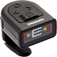 D'Addario NS Micro Clip-On Tuner – Highly Precise, Easy to Read, Clip-On Tuner for Guitar, Mandolin, Bass and More – Wide Calibration Range –Compact Low-Profile Design