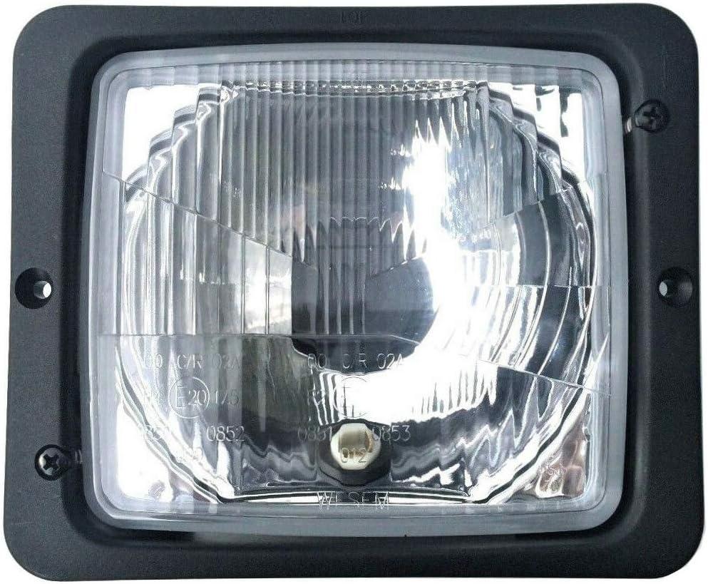 Scheinwerfer 12v 24v E20 Ip54 Mit Fernlicht Positionslicht Und Abblendlicht Für Traktoren Schlepper Und Landmaschinen Auto