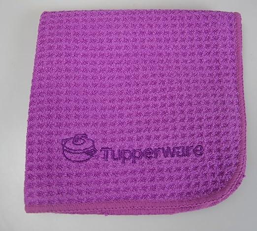 TUPPERWARE Microfibra Paño acero inoxidable pulir limpieza ...