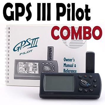 amazon com garmin gps iii pilot aviation navigator aviation gps rh amazon com Garmin Updates garmin pilot iii manual