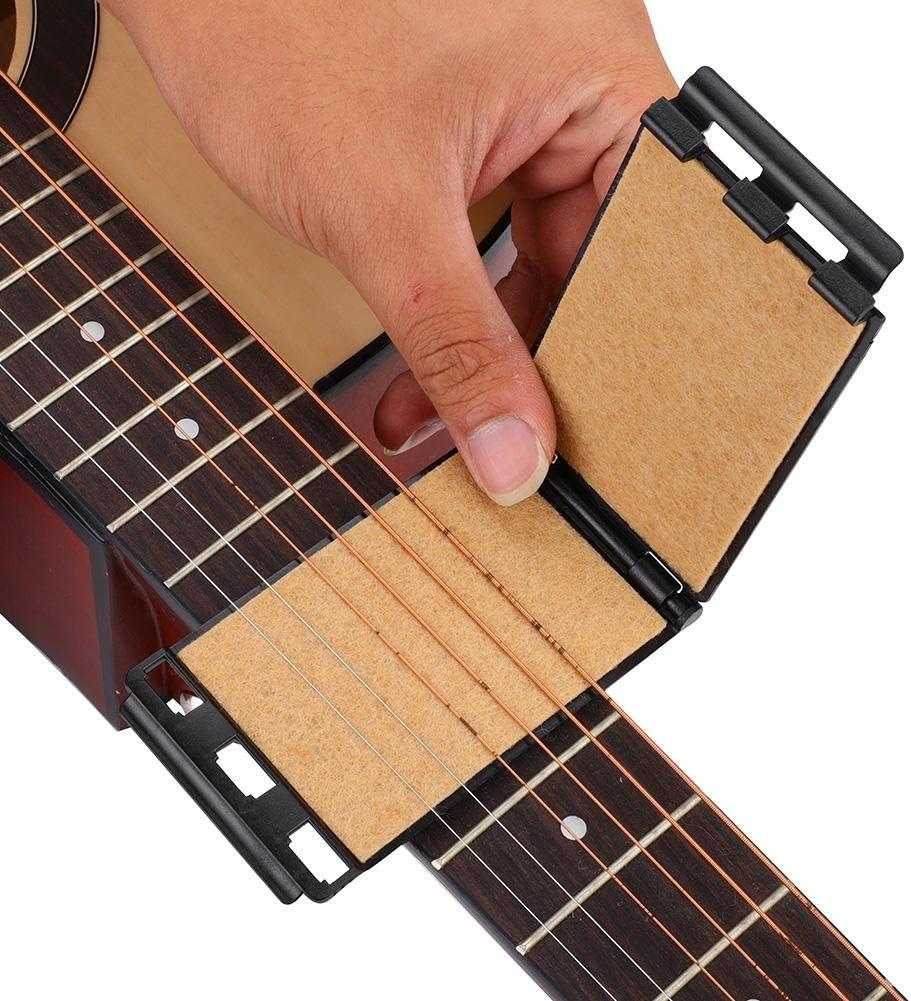 Guitarra Cuerdas Diapasón Limpiador Mantenimiento Herramienta para ...