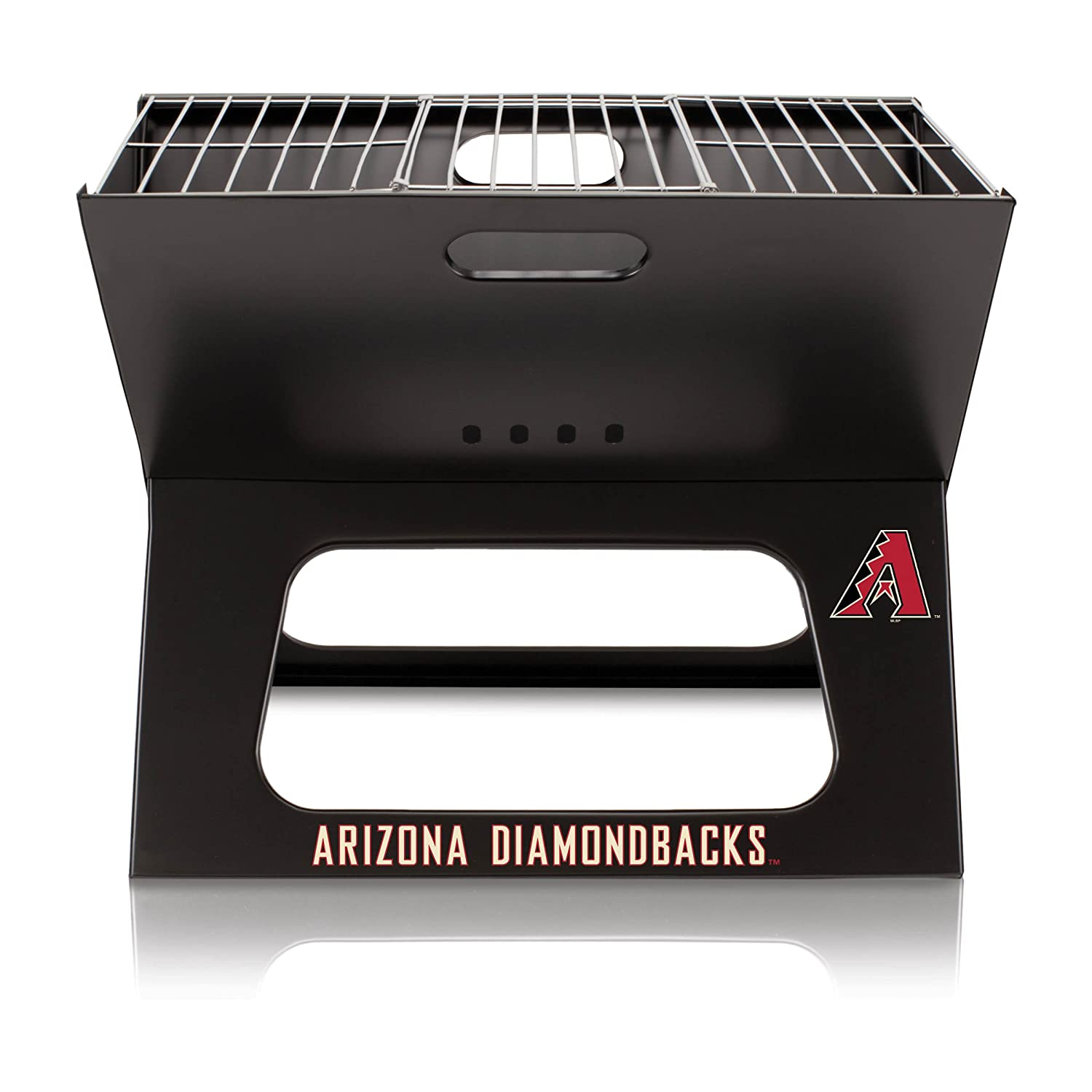 MLB Arizona Diamondbacks Portable Collapsible Charcoal X-Grill B00NQ91092