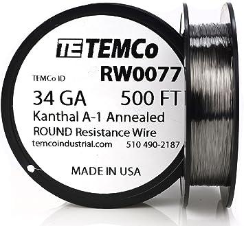 Kanthal A1-250 34 Gauge Resistance Wire