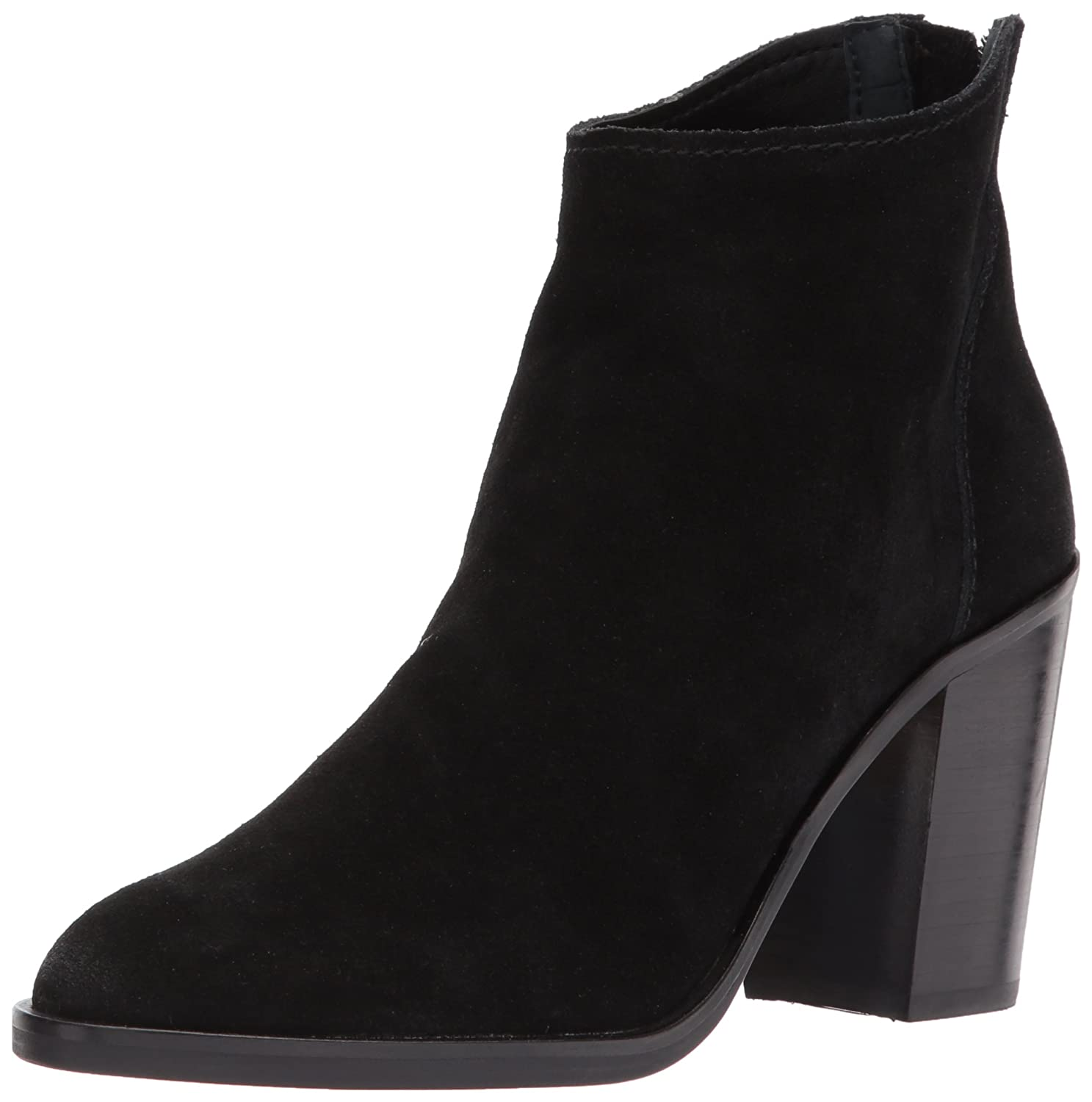 Dolce Vita Women's Stevie Ankle Boot B0758HFMY7 12 B(M) US|Black Suede