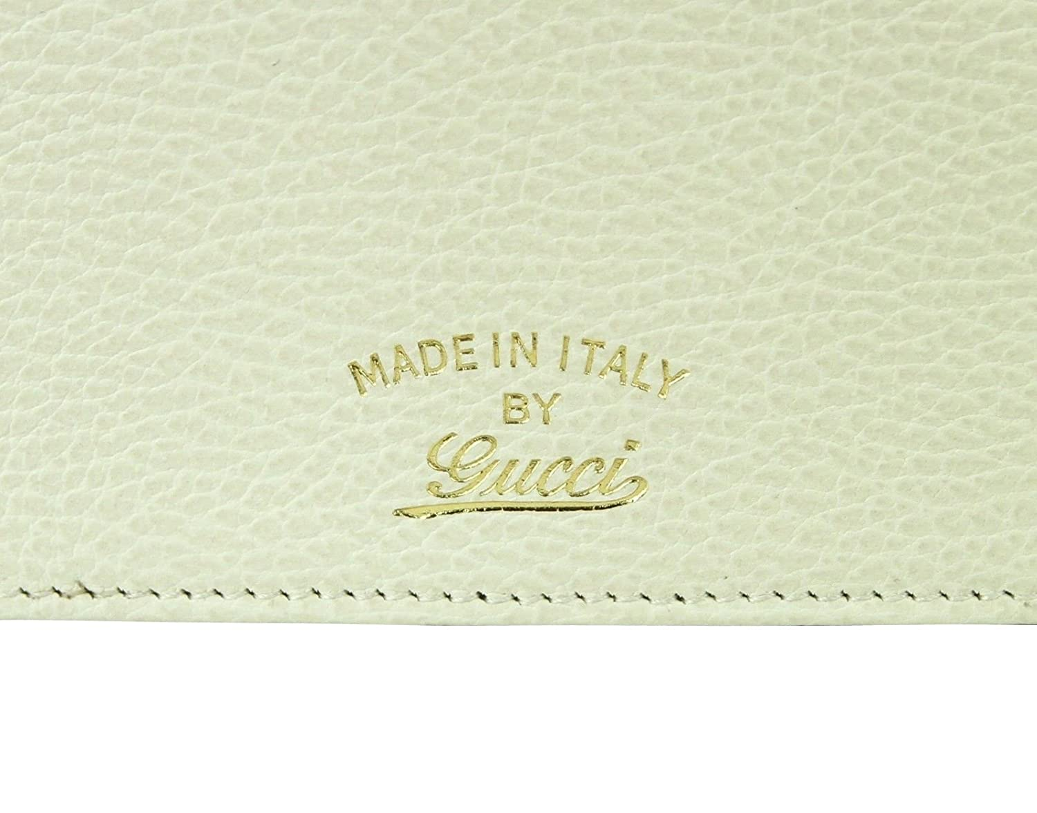 121665ab9c0 Gucci Swing Creamy White Leather Crossbody Clutch Wallet 368231 9022   Amazon.ca  Clothing   Accessories