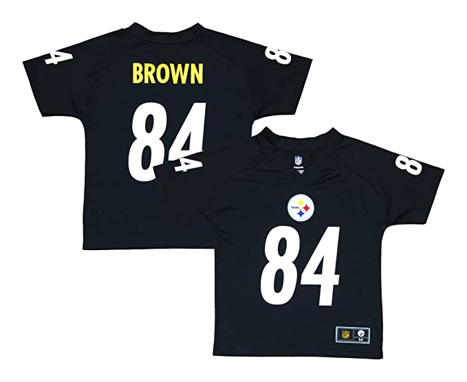 99670425 Amazon.com: Outerstuff Antonio Brown Pittsburgh Steelers Black ...