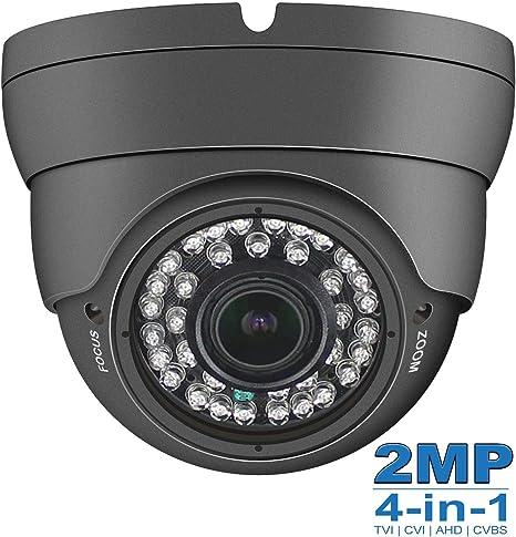 Outdoor HD 2mp 4in1 AHD TVI CVI CVBS CCTV Camera 1080P Weatherproof Night Vision