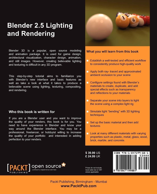 Blender 2.5 Lighting and Rendering