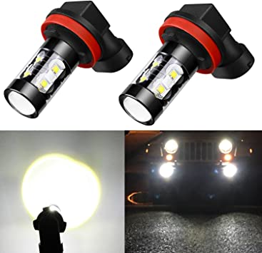 LED Headlight Kit 880 White 6K Fog Light CREE Bulb for NISSAN Frontier 2003-2004