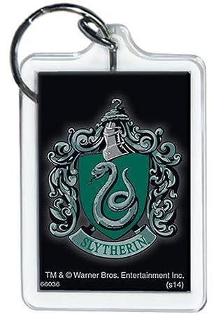 Harry Potter - Slytherin Escudo - Lucite llavero: Amazon.es ...