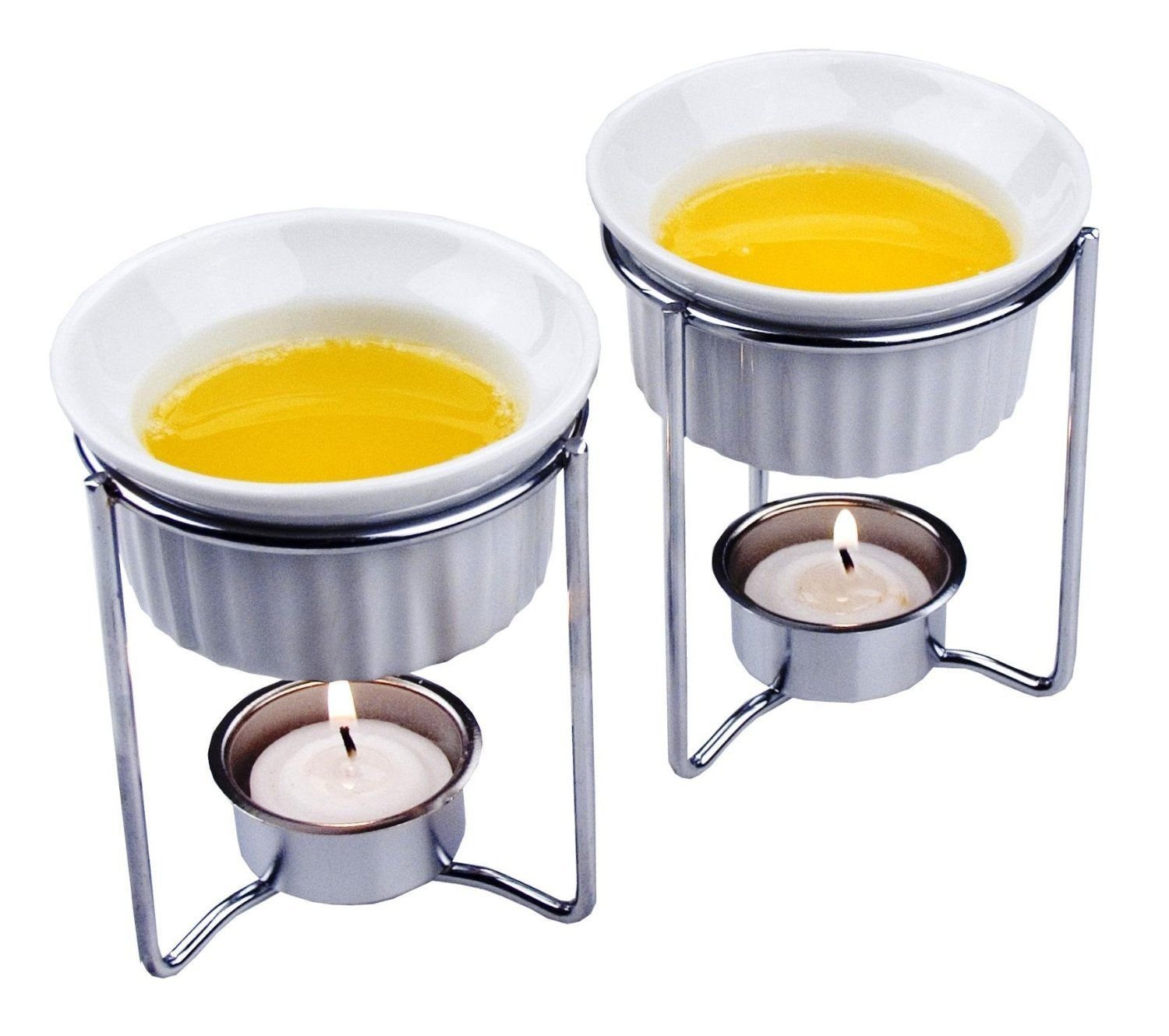 Fox Run Ceramic Butter Warmers, Set of 2 (5590) ;supply_by_theaccentshopinc