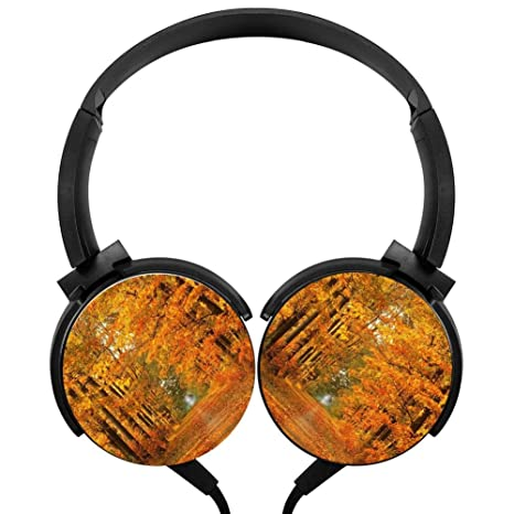 Review Stereo Headphone Autumn Color