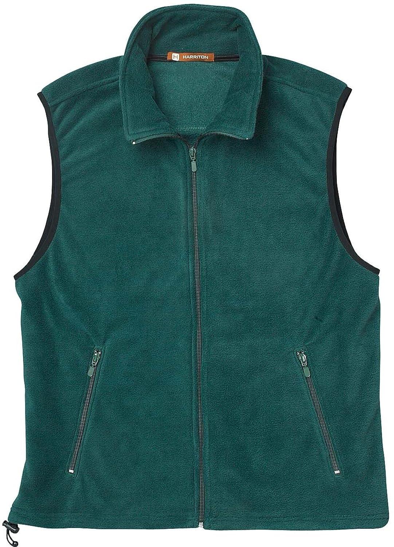 Harriton Men's Fleece Vest