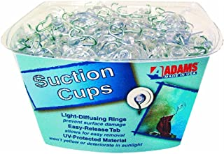 product image for Adams Hook Clear Plastic, Metal Hook 1 Lb. Max.