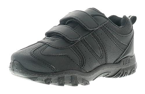 Rockstorm Benny para Niños Zapatos De Colegio Negro - Negro - GB Tallas 1-13 - Negro, EU 27 Niño: Amazon.es: Zapatos y complementos