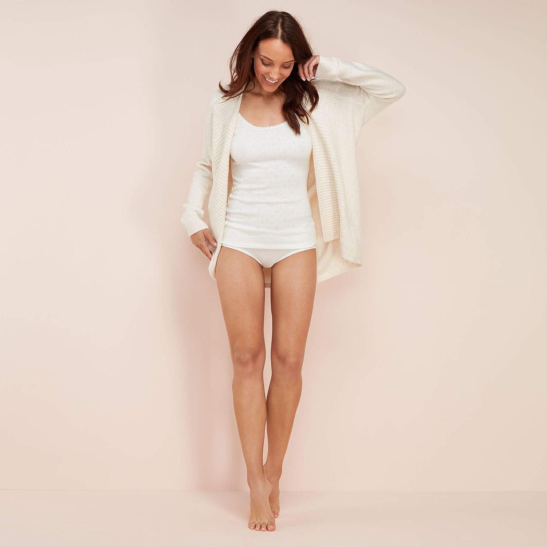 Debenhams Womens Pack of Two Cream Thermal Camisoles
