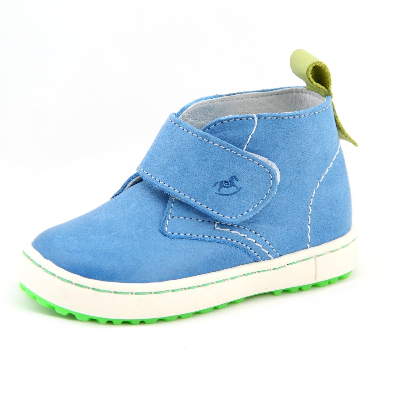 a17142224d6328 Babyschuhe Kinderschuhe Schuhe für Jungen blau mit Klettverschluss Modell  Emel 2470 handmade (20)  Amazon.de  Baby