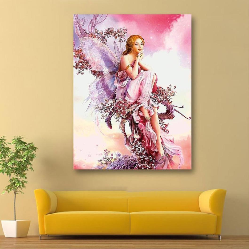 Amazon.com: lotus.flower 5D Diamond Painting, DIY Wall Art Decor ...